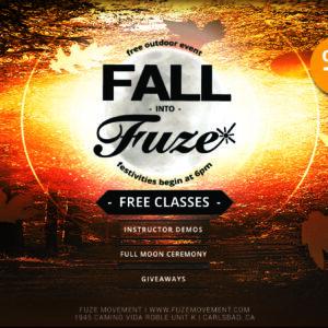 Fall Into Fuze Cover Photo